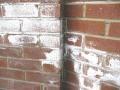 Crusty, White Salt Deposits Leached As Moisture Passes Through: Efflorescence